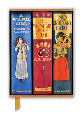 Image for Bodleian Libraries: Book Spines Great Girls (Foiled Journal) (Flame Tree Notebooks)