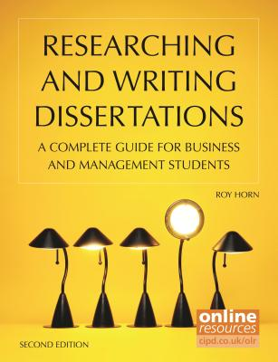 Image for Researching and Writing Dissertations: A Complete Guide for Business and Management Students