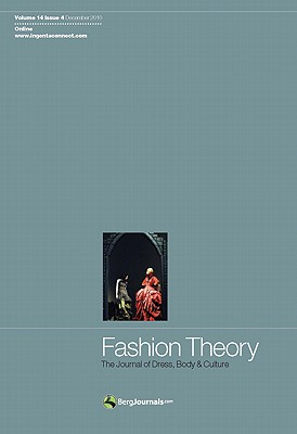 Image for Fashion Theory Volume 14 Issue 4: The Journal of Dress, Body and Culture