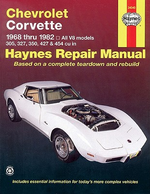 Image for Chevrolet Corvette 1968 Thru 1982: All V8 Models