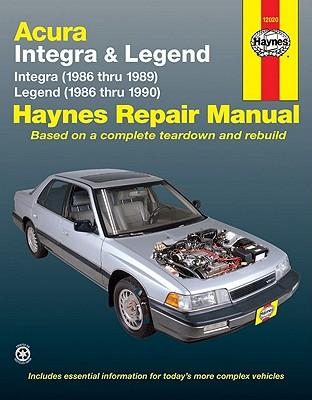 Image for Haynes Acura Integra (1986-1989) & Legend (1986-90)