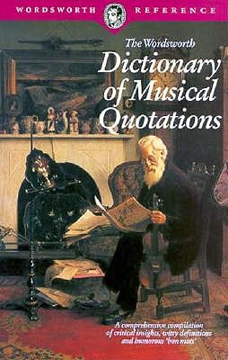 Image for DICTIONARY OF MUSICAL QUO (Wordsworth Collection)