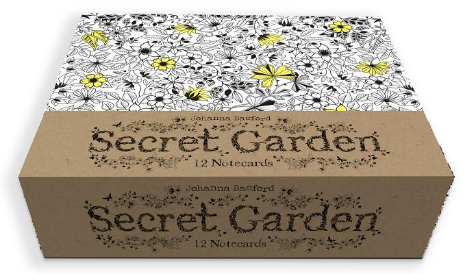 Image for Secret Garden: 12 Notecards