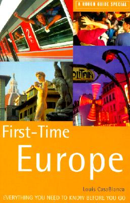 Image for First-Time Europe: A Rough Guide Special