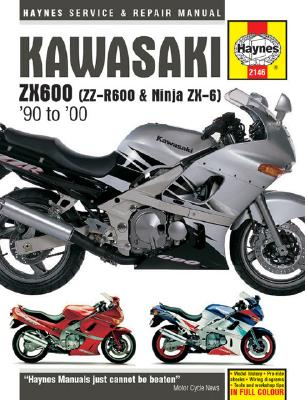 Image for Haynes Kawasaki Zx600 (Zz-R600 & Ninja Zx-6): Service and Repair Manual  '90 to '00
