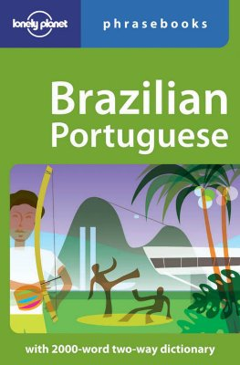 Image for Brazilian Portuguese: Lonely Planet Phrasebook (English and Spanish Edition)
