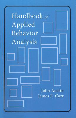 Image for Handbook of Applied Behavior Analysis