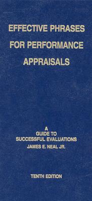 Image for Effective Phrases for Performance Appraisals: A Guide to Successful Evaluations(10th Edition)