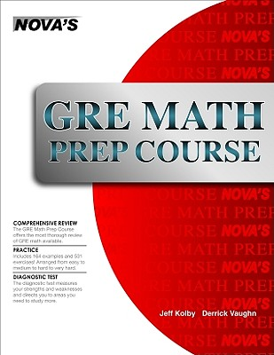 Image for GRE Math Prep Course (Nova's GRE Prep Course)