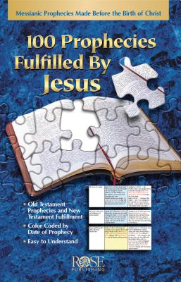 Image for 100 Prophecies Fulfilled by Jesus (pamphlet) (100 Prophecies Fulfilled by Jesus)
