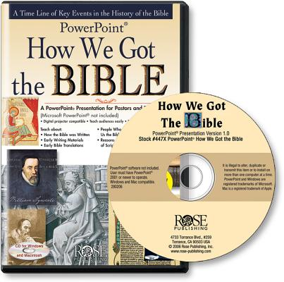 How We Got the Bible (PowerPoint), Rose Publishing