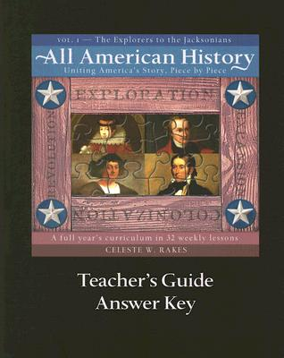 Image for All American History Vol. 1 Teacher's Guide/Answer Key