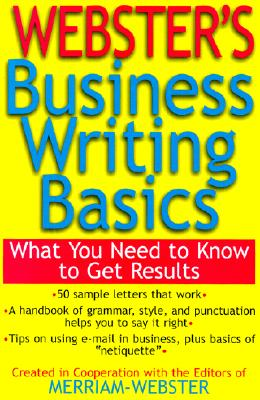 Image for Webster's Business Writing Basics