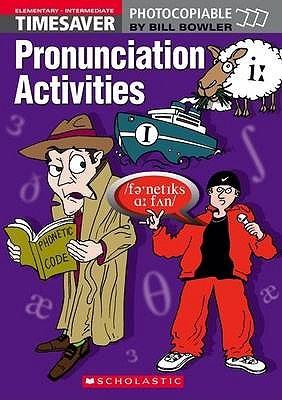 Image for Timesaver Pronunciation Activities - Elem to Interm