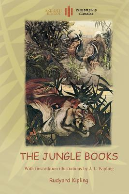 Image for The Jungle Books: With Over 55 Original Illustrations (Aziloth Books)