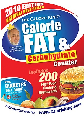 Image for The CalorieKing Calorie, Fat & Carbohydrate Counter 2010