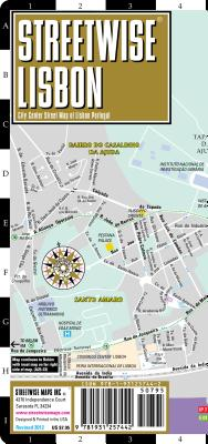 Image for STREETWISE LISBON CITY CENTER STREET MAP OF LISBON PORTUGUL