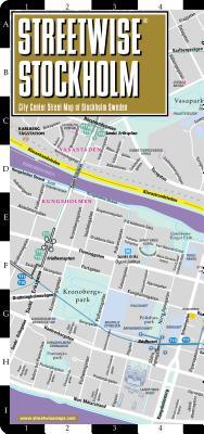 Image for STREETWISE STOCKHOLM CITY CENTER STREET MAP OF STOCKHOLM SWEDEN