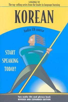 Image for Korean: Audio Cd Course (Language 30) (Korean Edition)