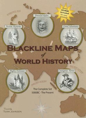 Image for Blackline Maps Of World History