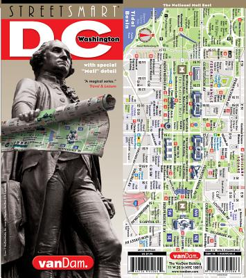 Image for StreetSmart Washington DC Map by VanDam -- Laminated City Street pocket map with all museums, sights, monuments, government buildings and hotels plus ... (English) Map – Folded Map, March 1, 2018