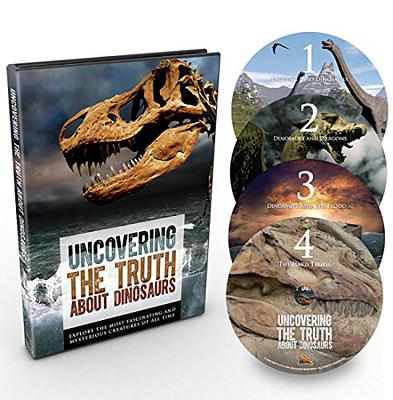 Image for Uncovering the Truth About Dinosaurs (English, Spanish, Chinese and Korean Edition)