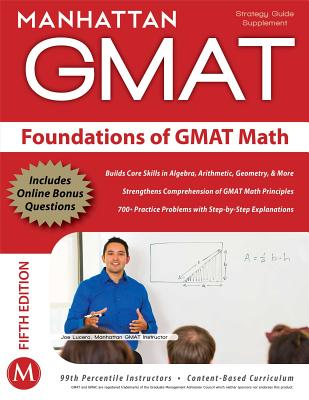 Image for FOUNDATIONS OF GMAT MATH FIFTH EDITION