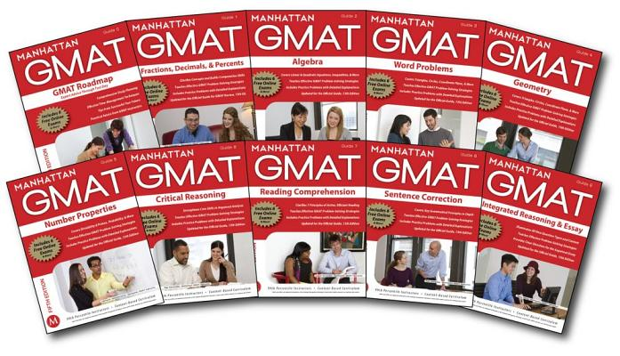 Manhattan GMAT Complete Strategy Guide Set, 5th Edition (Manhattan Gmat Strategy Guides: Instructional Guide), Manhattan GMAT (Author)