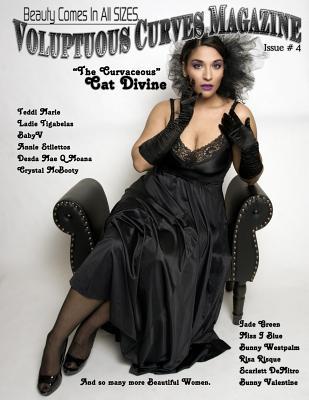 Voluptuous Curves Magazine: Issue # 4 Cat Divine Cover, Enoches, Michael