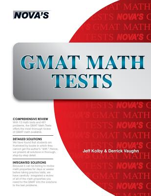 Image for GMAT Math Tests: Thirteen Full-length GMAT Math Tests!