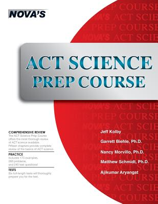Image for ACT Science Prep Course: Six Full-length Tests!