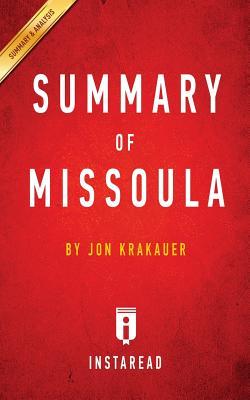Image for Summary of Missoula: by Jon Krakauer | Includes Analysis