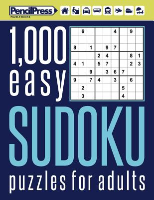 Image for 1000 easy Sudoku puzzles book for adults: Puzzle book for adults easy 1,000+ by