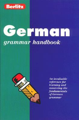 Image for Berlitz German Grammar: Handbook (Berlitz Language Handbooks) (German Edition)