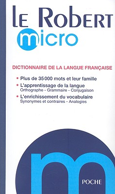 Image for Le Robert Micro 2008: Dictionnaire d'apprentissage de la langue