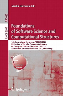 Image for Foundations of Software Science and Computational Structures (Lecture Notes in Computer Science)
