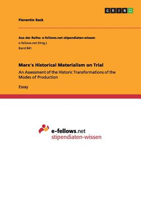 Image for Marx's Historical Materialism on Trial