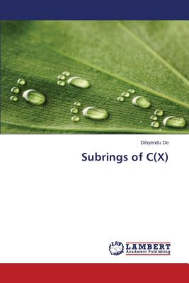 Image for Subrings of C(X)