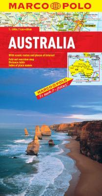 Australia Marco Polo Map (Marco Polo Maps), Marco Polo Travel Publishing