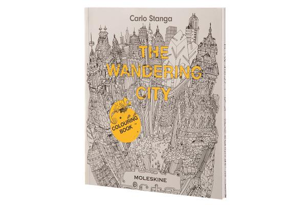 Image for The Wandering City: Colouring Book