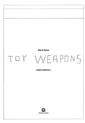 Image for Marti Guixe: Toy Weapons