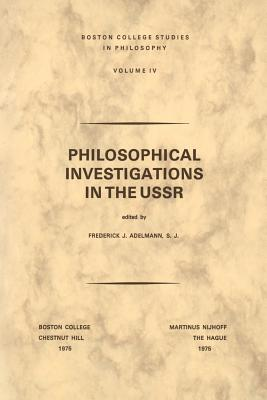 Image for Philosophical Investigations in the U.S.S.R.