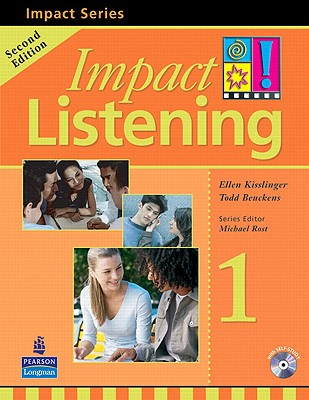 Image for Impact Listening: Level 1: Student Book